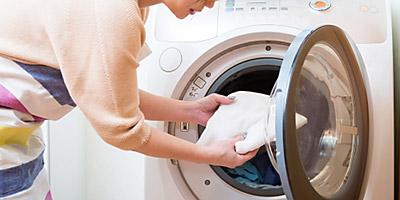 洗濯、干し